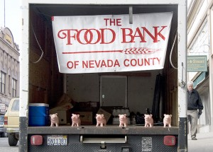 Photo of Food Bank Truck for Aikido'Ka food drive