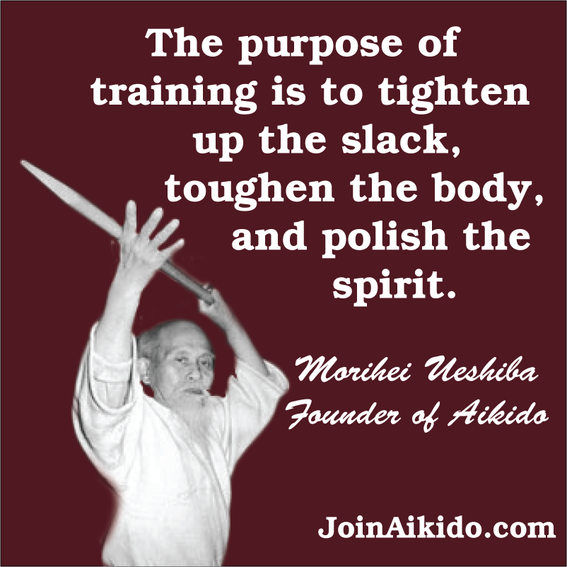 The Purpose of Aikido Training