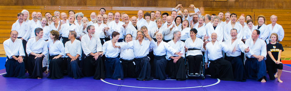 Silly Group Photo from Aiki Summer Retreat 2015