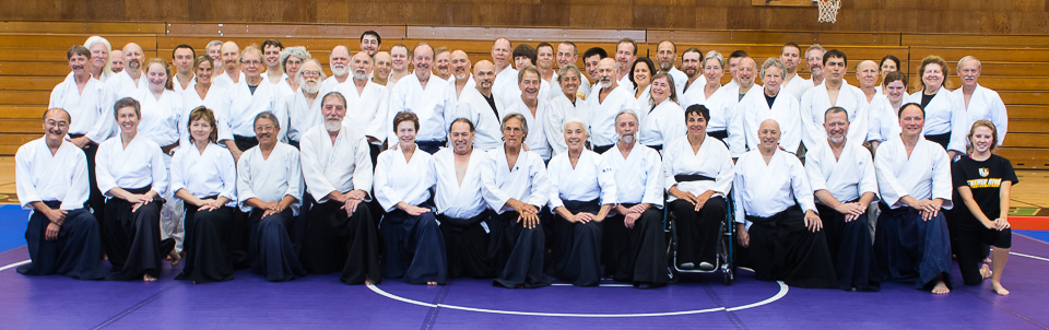 Group Photo from Aiki Summer Retreat 2015