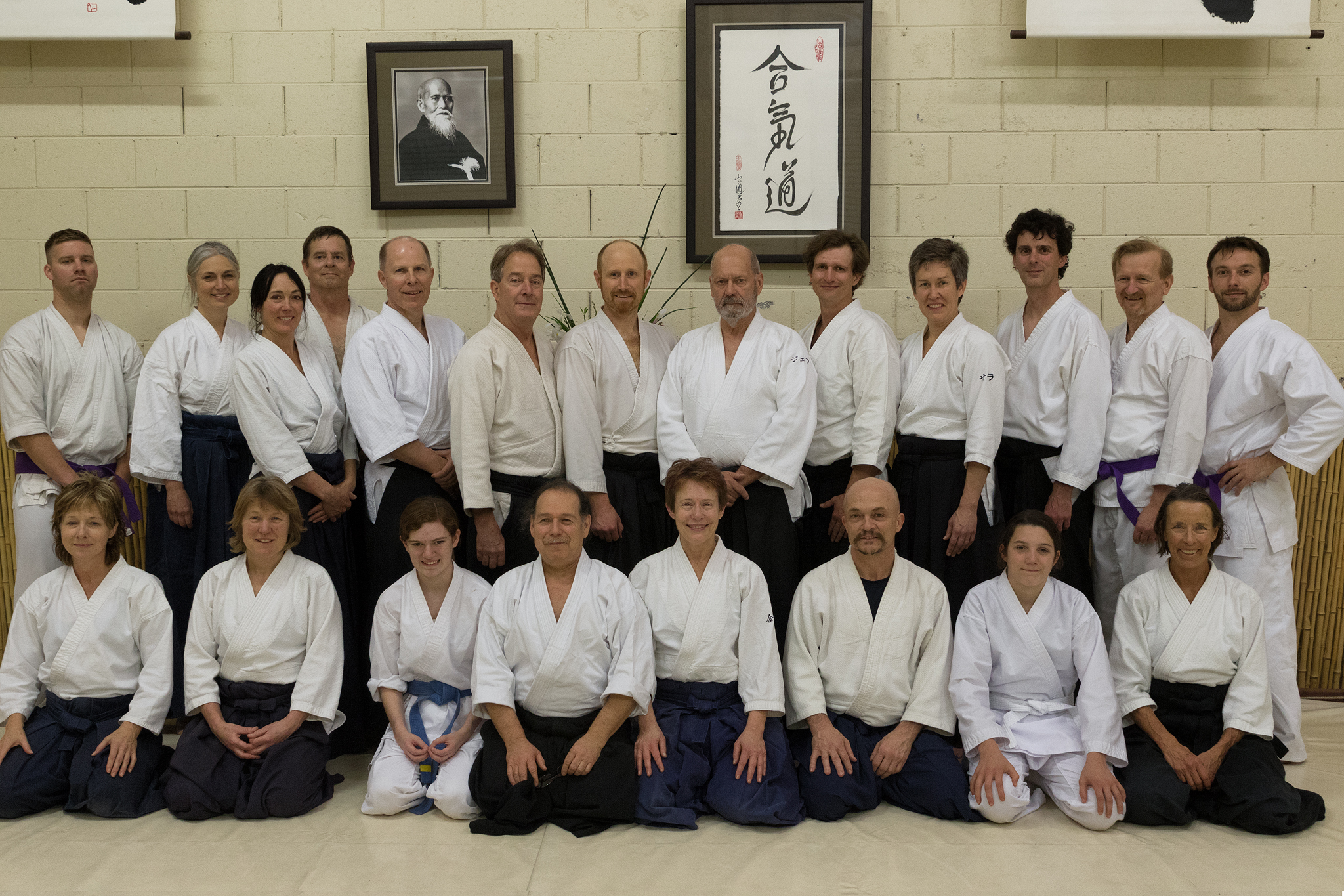 Group photo from Kimberly Richardson Sensei's seminar at Aikido'Ka
